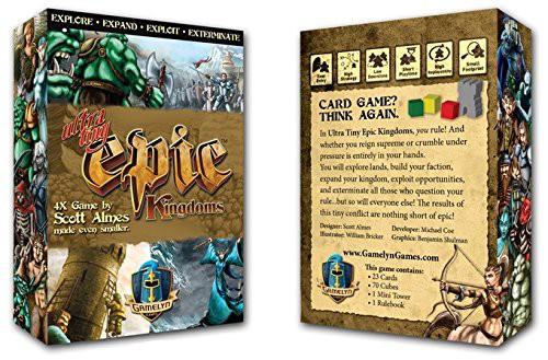 ボードゲーム Ultra Tiny Epic Kingdoms[並行輸入品]