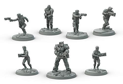 ボードゲーム Fallout: Wasteland Warfare Brotherhood of Steel Core Box[並行輸入品]