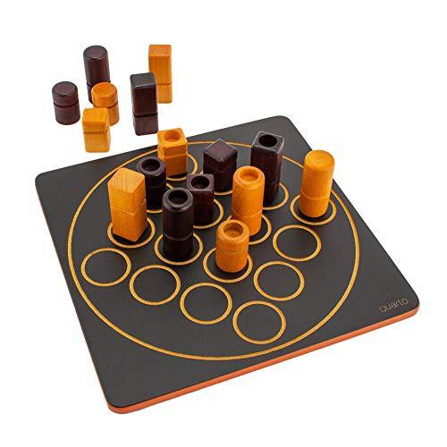 [ギガミック] Gigamic クアルト QUARTO ボードゲーム GCQA 3.421271.300410 木製 テーブルゲーム おもちゃ 知育 玩具 子供 脳トレ ゲーム