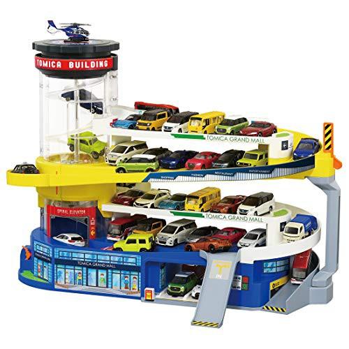 トミカ ダブルアクション トミカビル ( 50周年記念仕様 ) (おもちゃ屋が選んだクリスマスおもちゃ2020 「のりもの玩具(クルマ&トレイン)