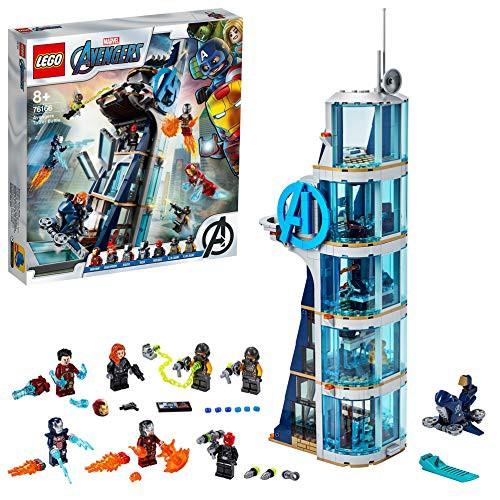 レゴ(LEGO) スーパー・ヒーローズ アベンジャーズ・タワーの決戦 76166