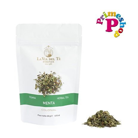 【LA VIA DEL TE】紅茶 / ハーブティー 【パック入り】茶葉『ラ ヴィア デル テ』  (ミント)