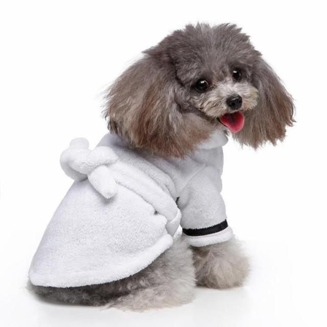 ペット服ホテルバスタオル犬猫バスローブナイトガウンパジャマ
