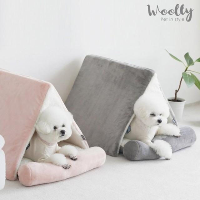 犬 キャットハウス ペットハウス ペットベッド 犬ドーム 犬用ベッド クッション 猫ベッド ペットドーム