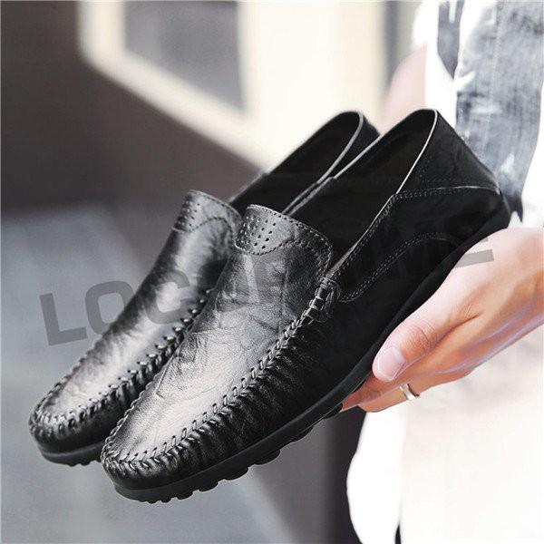 ドライビングシューズ メンズ 本革 ビジネスシューズ メンズシューズ 幅広 柔らかい ローファー モカシン 滑り止め 紳士靴 防滑 イギリス
