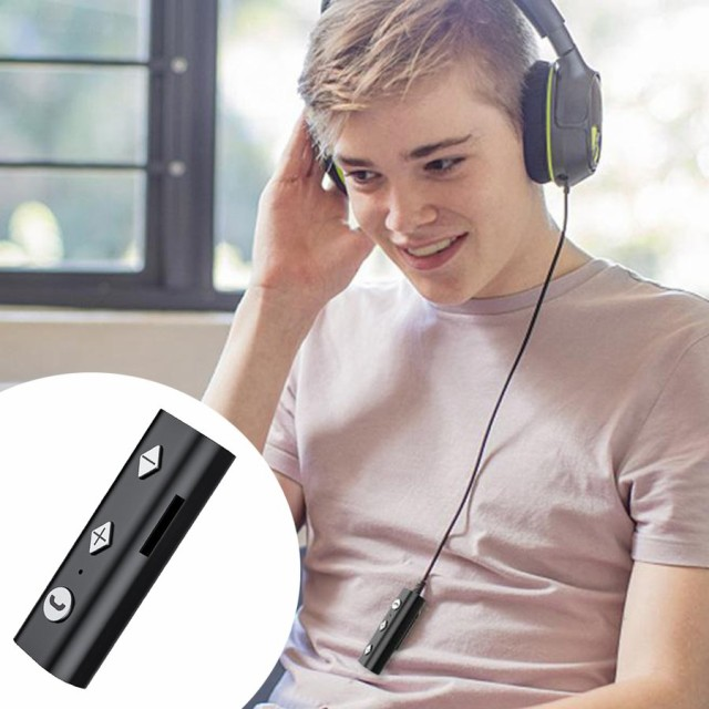 Bluetooth 5.0受信機音楽トランスミッターアダプターイヤホンテレビpc.bluetoothどこでも