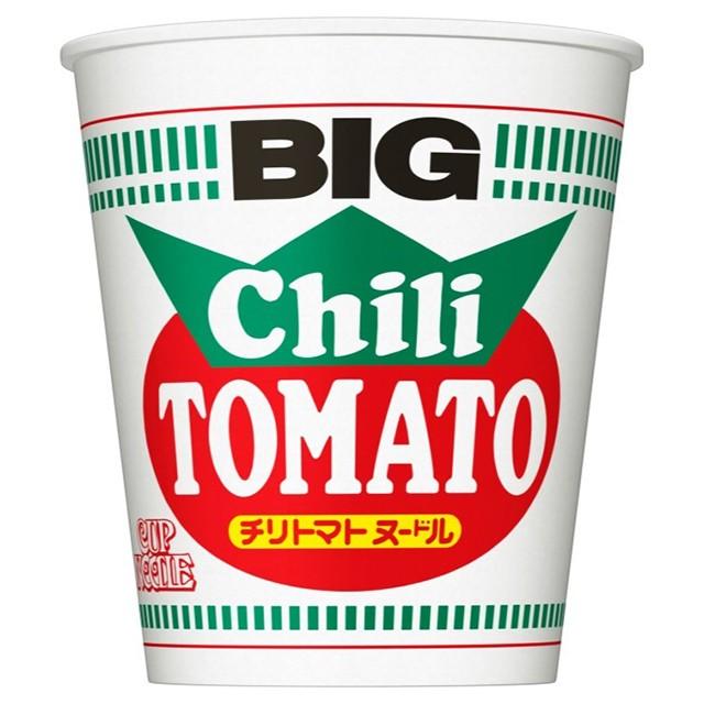日清 カップヌードル チリトマト ビッグ 107g×12個 日清食品 インスタント カップ麺 インスタントラーメン ケース販売 まとめ買い