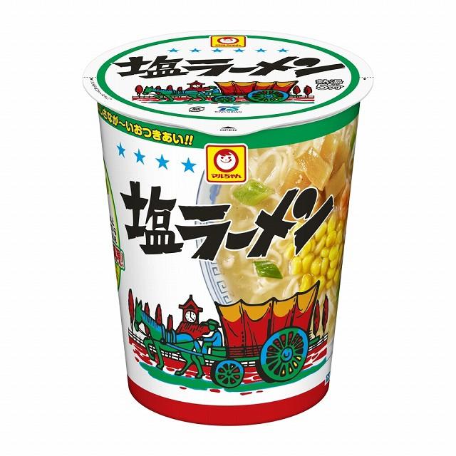 マルちゃん 縦型ビッグ 塩ラーメン 86g×12個 東洋水産 カップラーメン カップ麺 インスタント まとめ買い ケース 備蓄