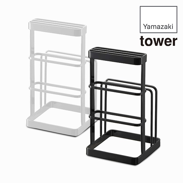 カッティングボード&ナイフスタンド タワー