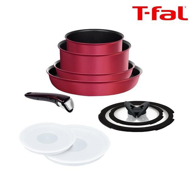 ティファール T-fal フライパン 鍋 9点 インジニオ・ネオ IHルビー・エクセレンス セット9 L66392 6層コーティング ガス火 IH 対応
