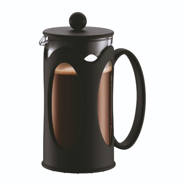 BODUM ボダム コーヒーメーカー KENYA ケニヤ フレンチプレス 350ml ブラック 10682-01J 公式