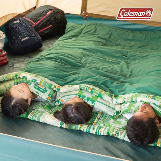 コールマン 寝袋 シュラフ ファミリー2in1 C10 2000027256 ねぶくろ しゅらふ アウトドア キャンプ