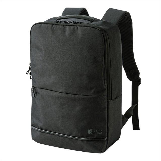 カジュアルPCバックパック BAG-BP16BK/ブラック