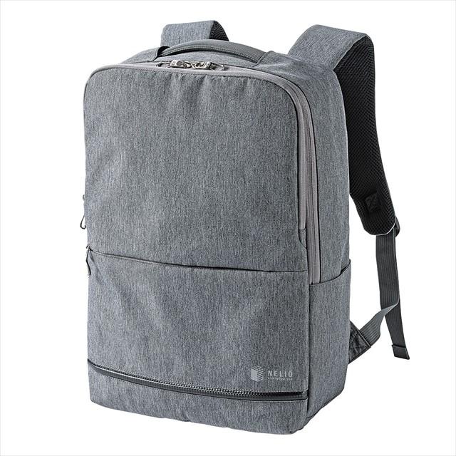 カジュアルPCバックパック BAG-BP16GY/グレー