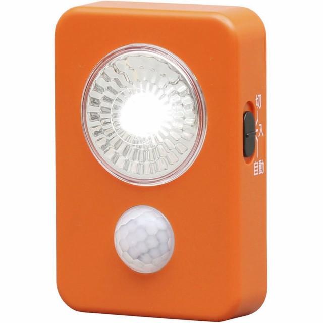 乾電池式LED屋内センサーライト ハンディタイプ アイリスオーヤマ