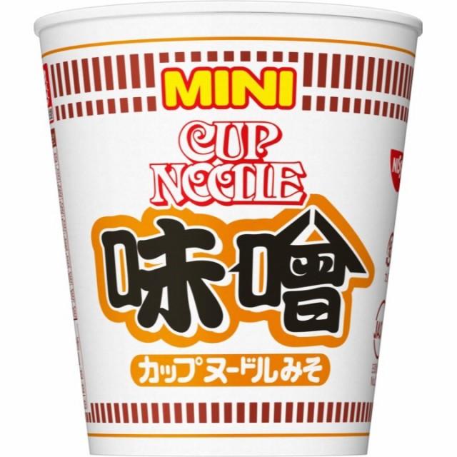 日清 カップヌードル 味噌 ミニ 42g×15個 日清食品 カップラーメン カップ麺 ケース販売 箱買い まとめ買い 備蓄 常備食