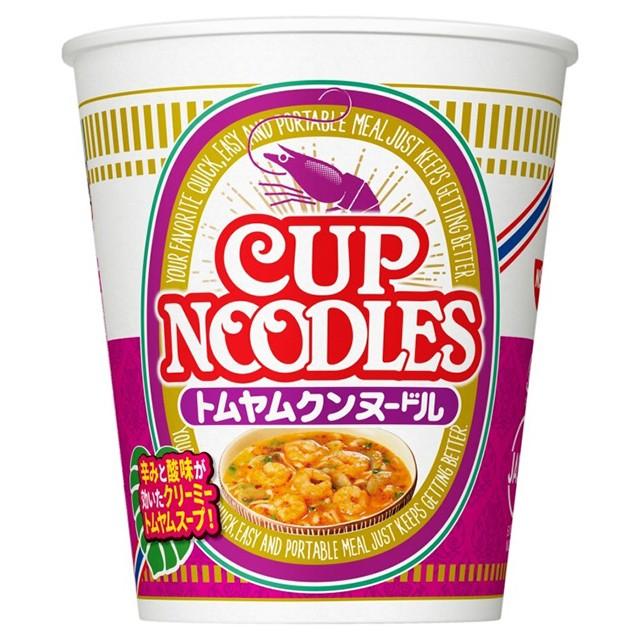 日清 カップヌードル トムヤムクンヌードル 75g×12個 日清食品 カップラーメン カップ麺 ケース販売 箱買い まとめ買い 備蓄 常備食