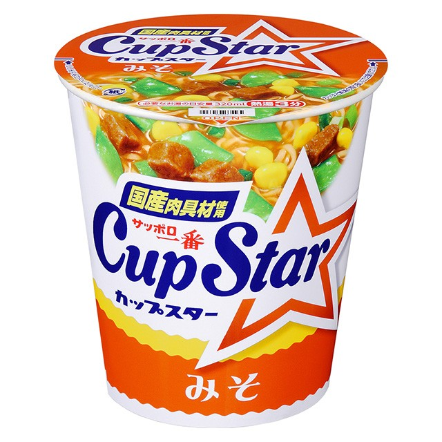 サッポロ一番 カップスター みそ 79g×12個 サンヨー食品 カップ麺 カップラーメン インスタント食品 ケース販売 箱買い まとめ買い 備蓄