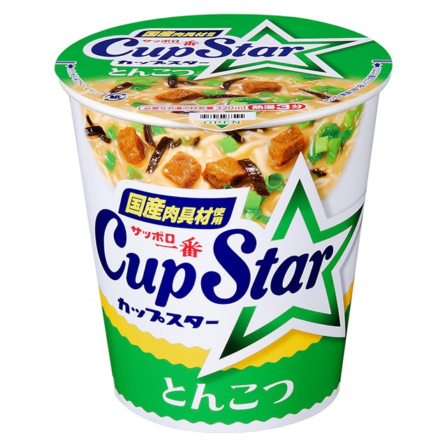 サッポロ一番 カップスター とんこつ 79g×12個 サンヨー食品 カップ麺 カップラーメン インスタント食品 ケース販売 箱買い まとめ買い