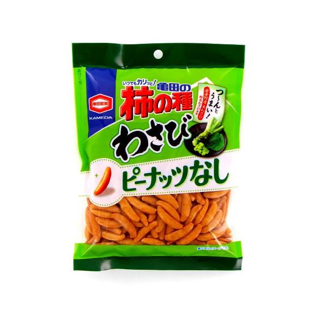 亀田の柿の種わさび100% 亀田製菓 おつまみ ビール 115g×12個