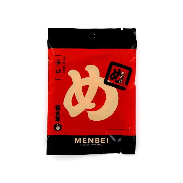 辛子めんたい風味めんべい 辛口 (2枚×2P)×10袋 山口油屋福太郎