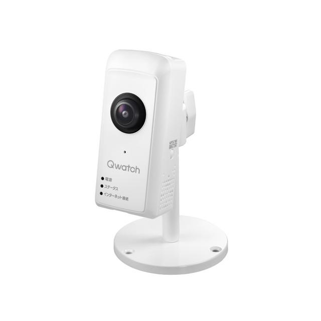 I-O DATA ネットワークカメラ Qwatch スマホ ペット 子供 見守り 高画質/録画 TS-WRFE
