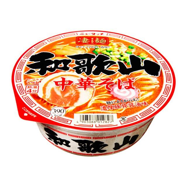 ニュータッチ 凄麺 和歌山中華そば 119g×12個 ヤマダイ カップ麺 カップラーメン ケース販売 箱買い 大容量 備蓄 ご当地
