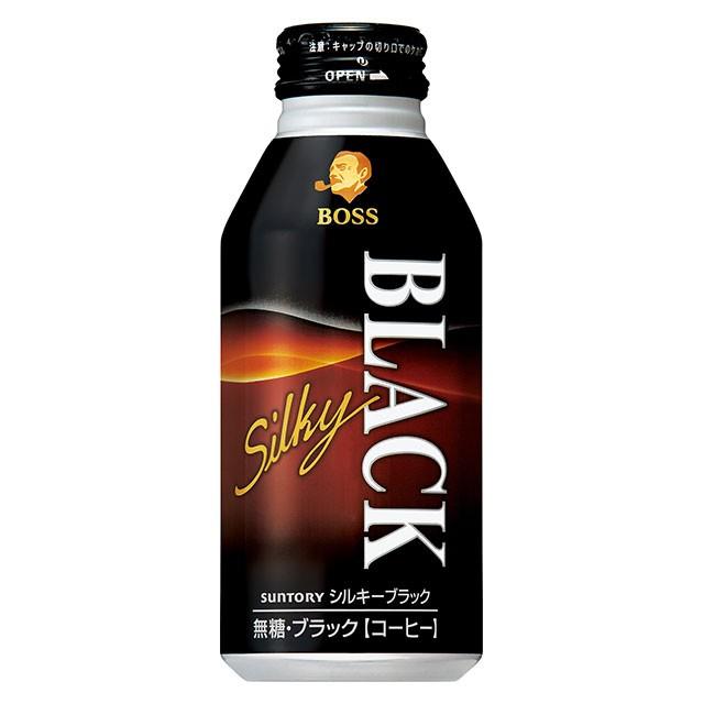 ボス シルキーブラック 400g×24本 缶