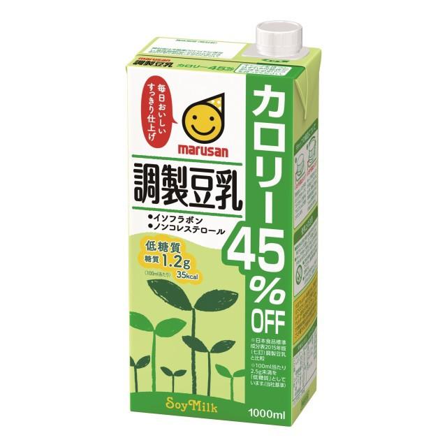 カロリー45%オフ 調製豆乳 1L×6本 紙パック