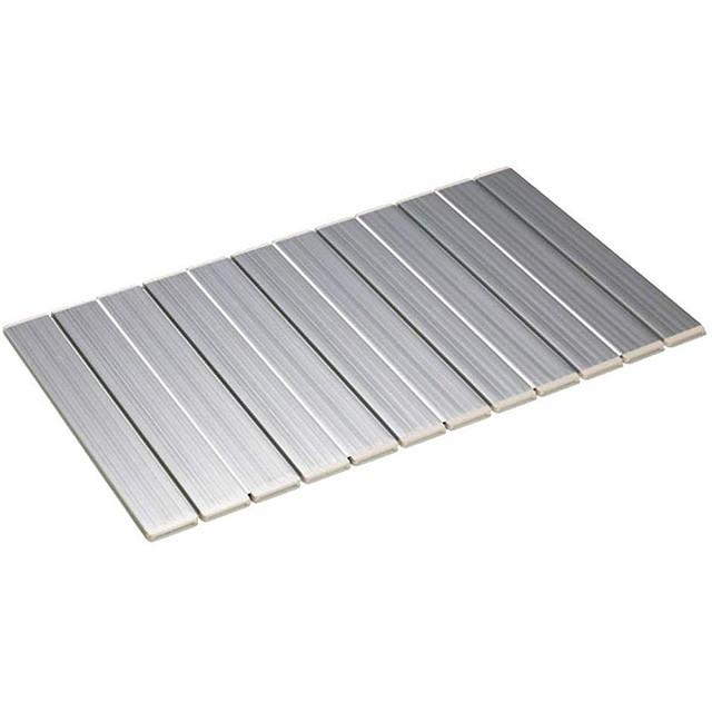 東プレ 風呂フタ AG 折りたたみフタ L14 75×139cm メタリックグレー