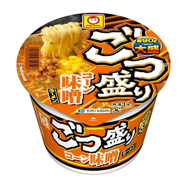 ごつ盛り コーン味噌ラーメン 138g×12個 東洋水産 カップラーメン カップ麺 ケース販売 箱買い まとめ買い 備蓄