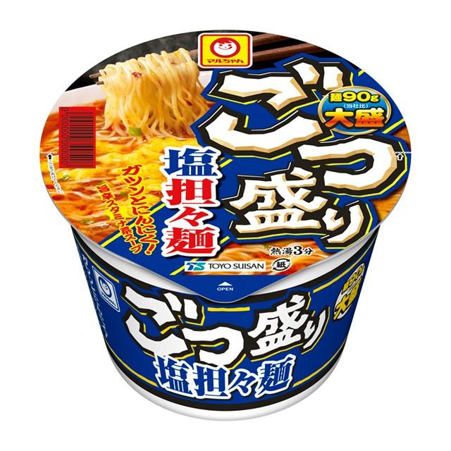 ごつ盛り 塩担々麺 112g×12個 東洋水産 カップラーメン カップ麺 ケース販売 箱買い まとめ買い 備蓄