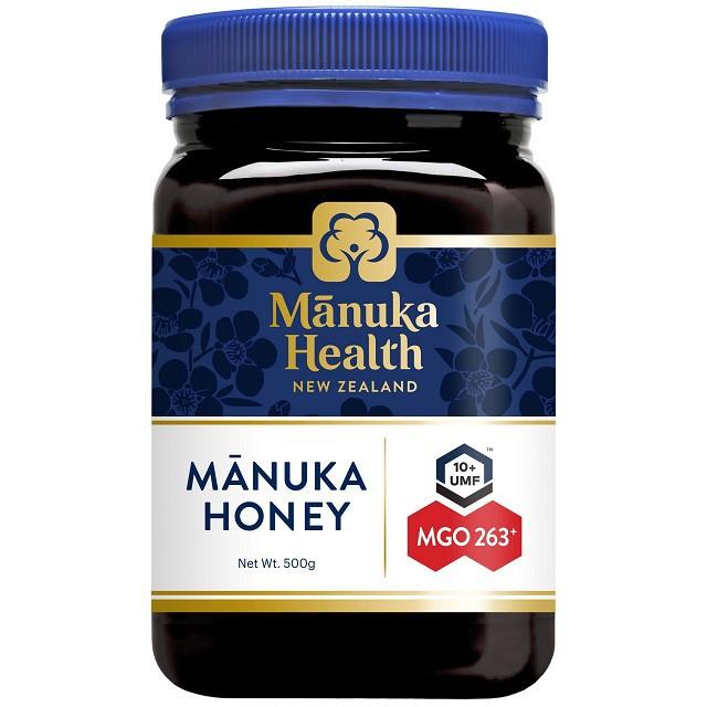 マヌカヘルス マヌカハニー MGO263+/UMF10+ 正規品 ニュージーランド産 500g 富永貿易 はちみつ 蜂蜜 ハチミツ マヌカ