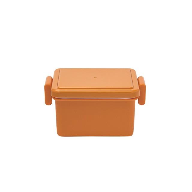 ジェルクール square S pumpkin orange 0101-0009 お弁当箱 保冷
