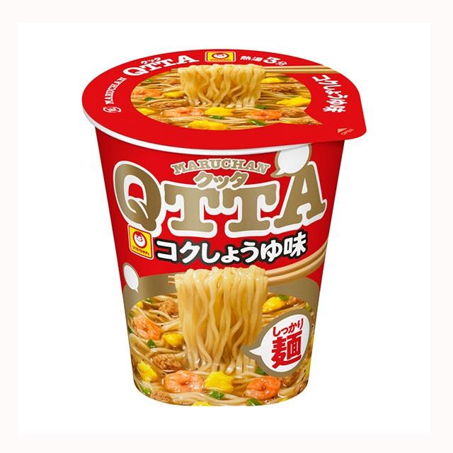 マルちゃん QTTA コクしょうゆ味 78g×12食 東洋水産 カップラーメン カップ麺 ケース まとめ買い 箱買い 備蓄