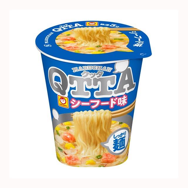 マルちゃん QTTA シーフード味 12食 東洋水産 カップラーメン カップ麺 ケース まとめ買い 箱買い 備蓄