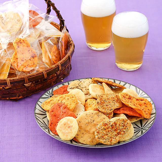 煎餅 和菓子 おつまみせんべいアソート 3種/計510g 個包装 キムチ 黒コショウ チーズ つまみ 大容量