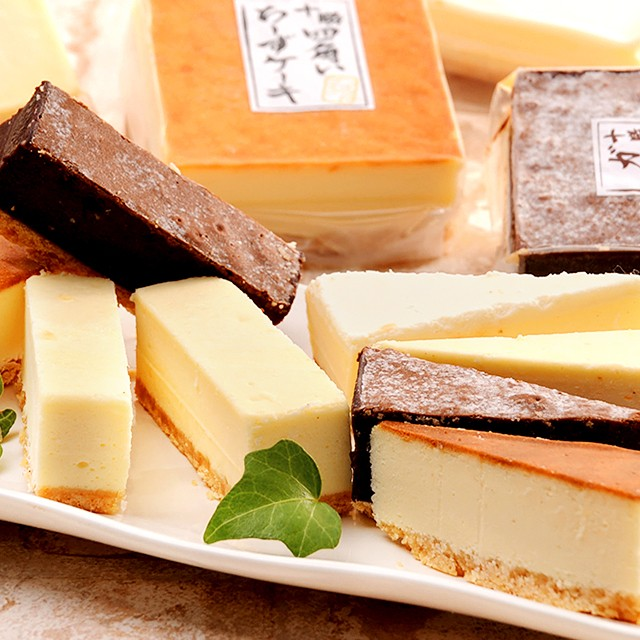 十勝ドルチェ 四角い チーズケーキ & ガトーショコラ 北海道 チョコレート ケーキ