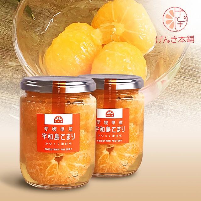 愛媛県産てまりみかんジュレ漬け /240g×2瓶