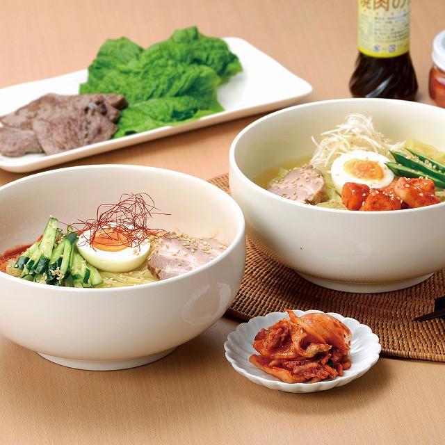焼肉・冷麺ヤマト 盛岡冷麺・ビビン麺セット