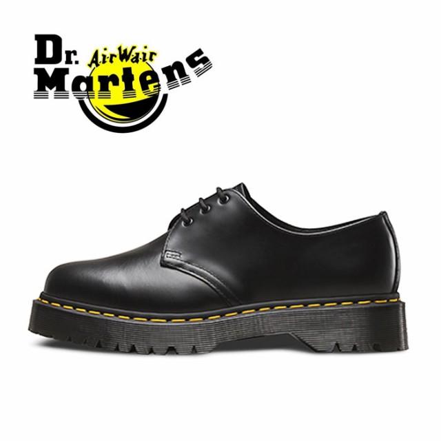 ドクターマーチン 3ホール 3アイレット ベックス メンズ レディース ブーツ シューズ 黒 ブラック Dr.Martens BEX CORE 1461 BLACK