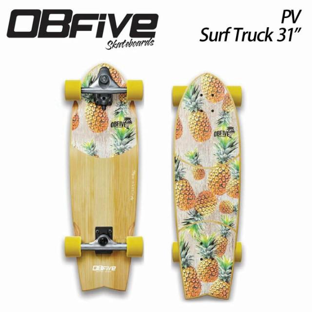 OBfive オブ ファイブ PV Surf Truck 31 コンプリート サーフスケート パイナップル [3] オービーファイブ