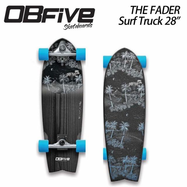 OBfive オブ ファイブ Fader Surf Truck 28 フェーダー コンプリート サーフスケート [1] オービーファイブ