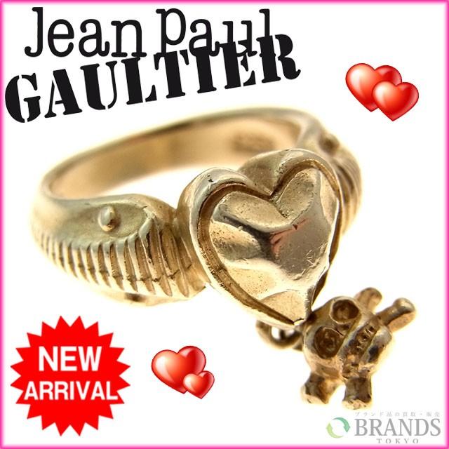 ゴルチェ Gaultier ピンキーリング ハートスカル [中古] (廃盤レア) R341
