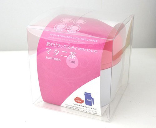 【送料無料】【カフェインレス】 熊本県産あさぎり町の花咲たもぎ茸と ほうじ茶のブレンドティー 「マタニ茶」30g缶タイプ