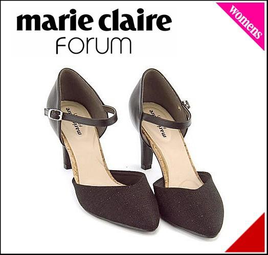 マリ・クレール フォーラム パンプス ヒール レディース 限定モデル marie claire forum 272013 ブラック