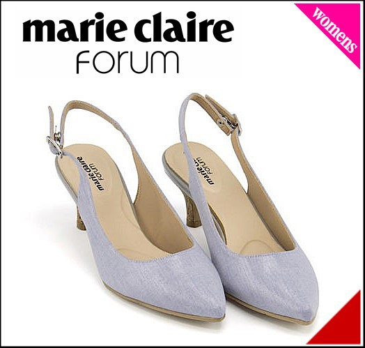 マリ・クレール フォーラム パンプス ヒール レディース 限定モデル レディース marie claire forum 272012 ブルー
