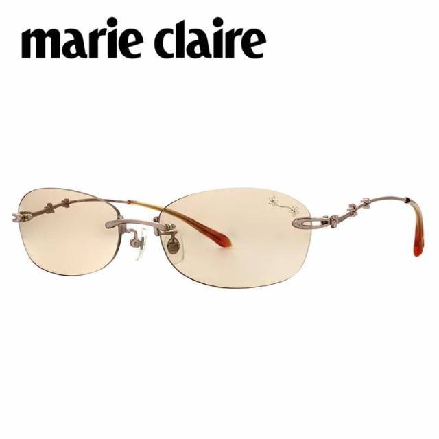 marie claire マリ・クレール サングラス MC2022 ピンクゴールド/ブラウン アイウェア レディース