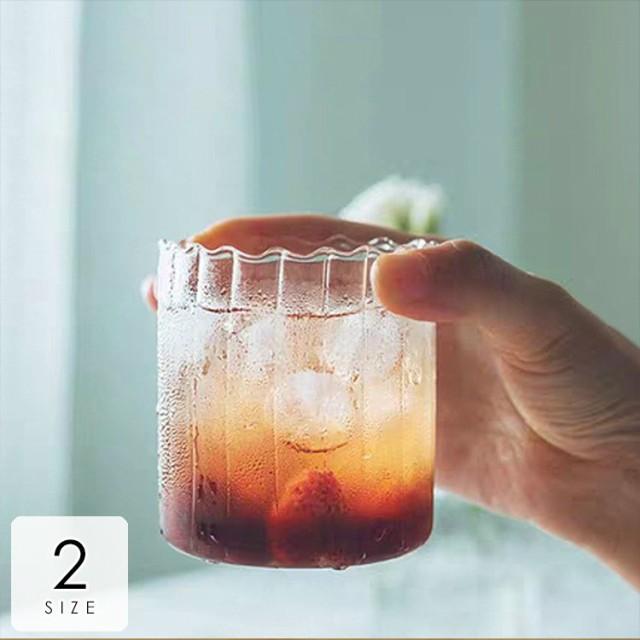 キッチン用品 食器 お茶用品 コップ グラス 透明 クリア シンプル 来客用 涼し気 アイスコーヒー アイスティー ジュース クリア清潔感 台