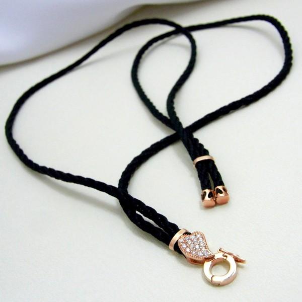 シルバー925 金具付き 無段階調整 かわいい ネックレス チョーカー シンプル ブランド 個性 ロング